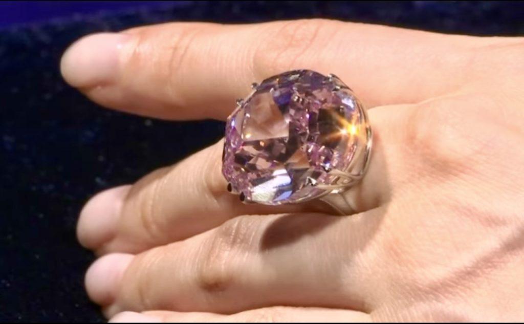 Pink Star gyémánt