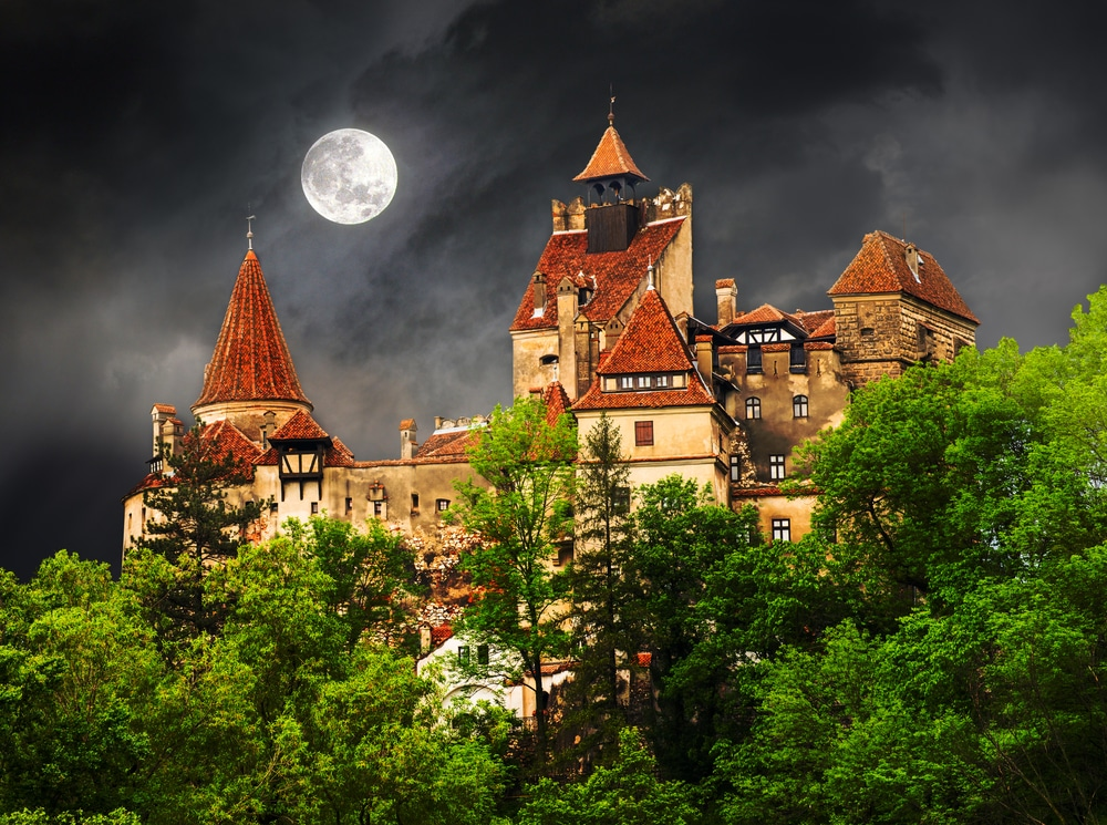 Dracula,count,house,,medieval,building,of,transylvania,,castle,of,bran