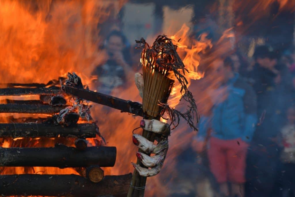 Walpurgis,night,,burning,of,the,witches, ,prague,,czech,republic