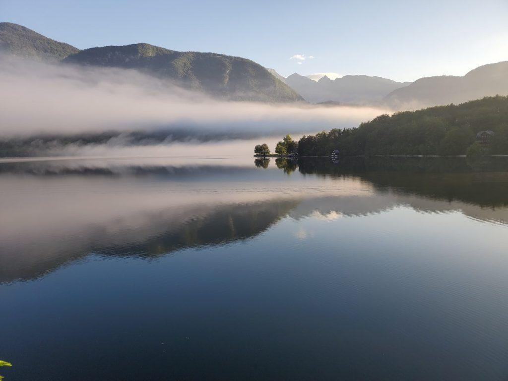 Bohinj tó szlovénia