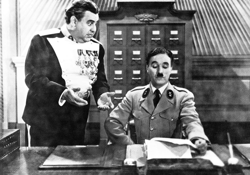 'the Great Dictator' By Charles Chaplin, Usa, 1940.