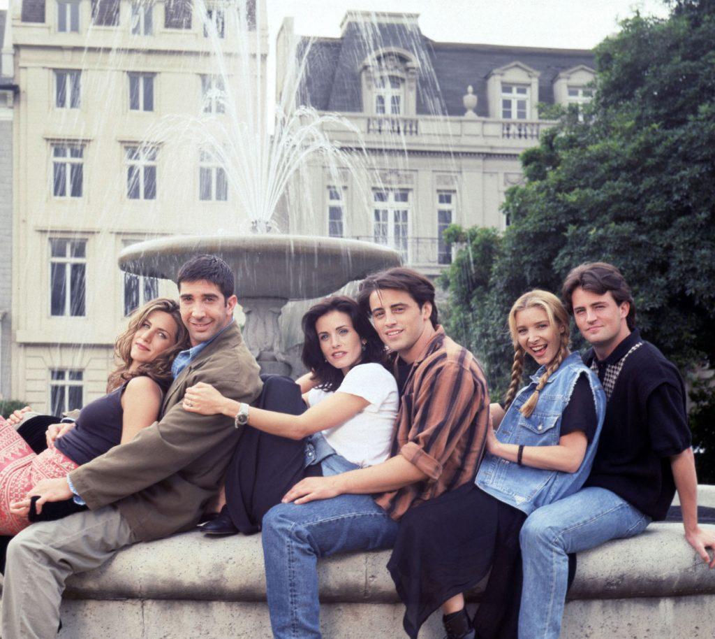 'friends' Tv Stills