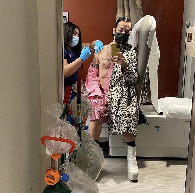 Marc Jacobs Vakcinaszelfi
