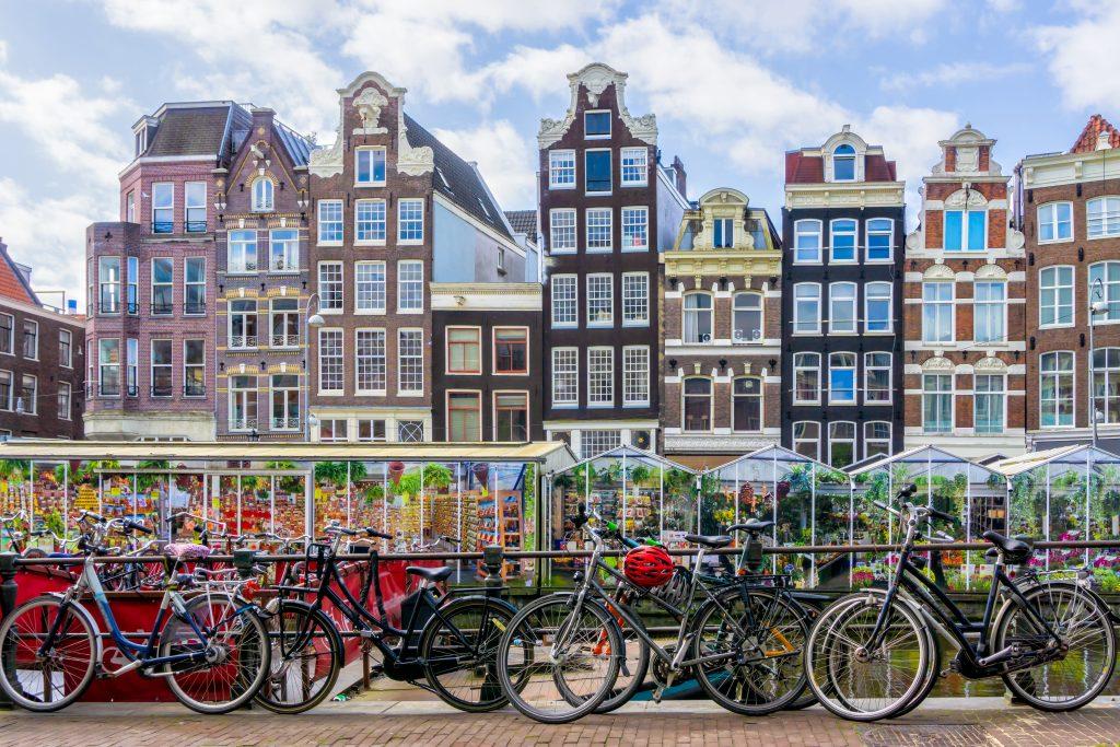 amszterdam utazás virágpiac
