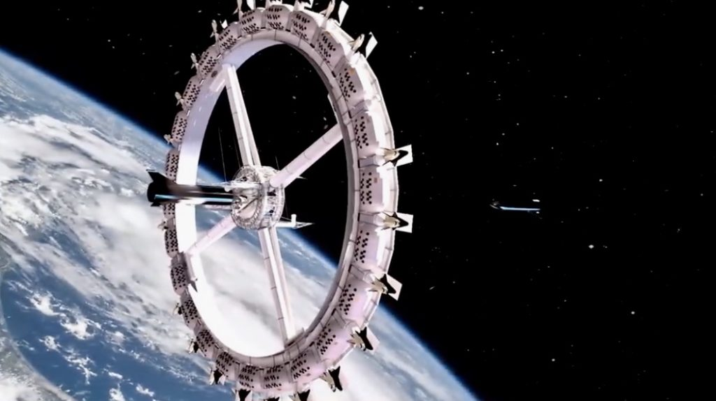 Urhotel Voyager Station