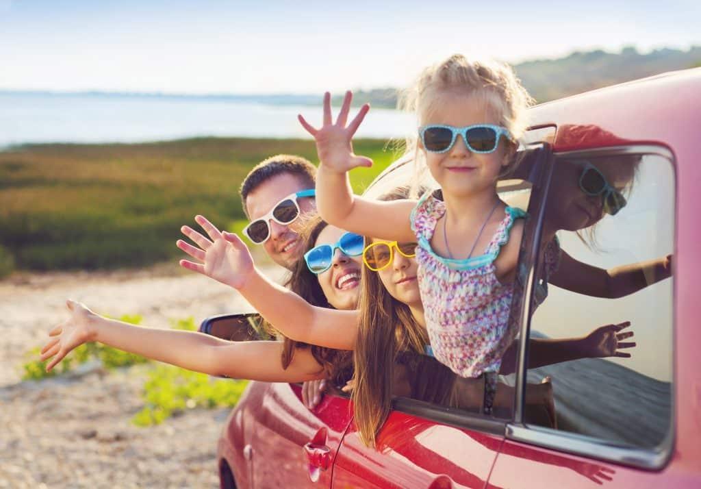 család utazás gyerek