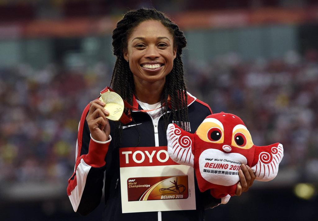 Allyson Felix olimpia nők