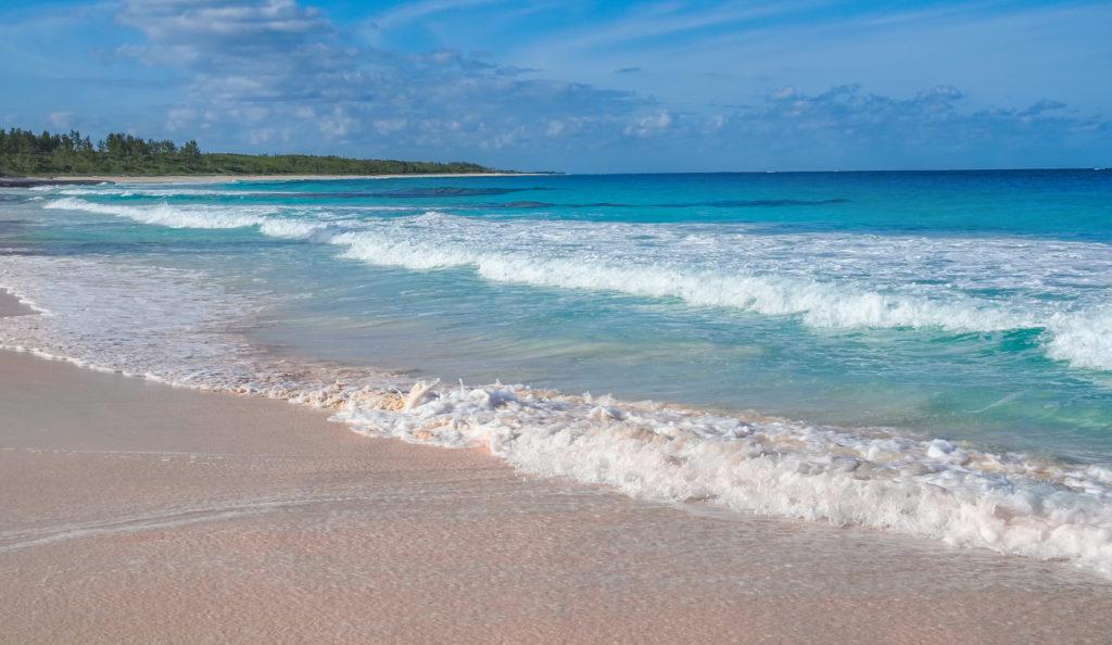 Pink,sand,beaches,elethera,bahamas
