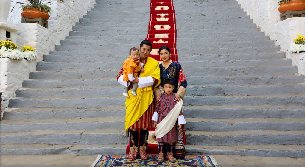 bhutan királyi család
