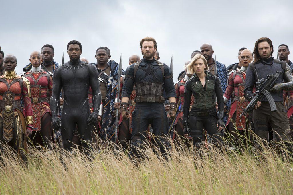 2018 Avengers: Infinity War Movie Set