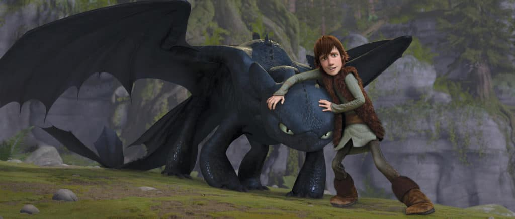 2010 How To Train Your Dragon Movie Set