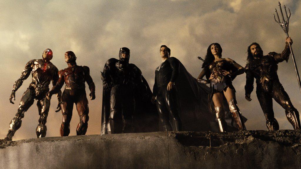 2021 Zack Snyder's Justice League Movie Set