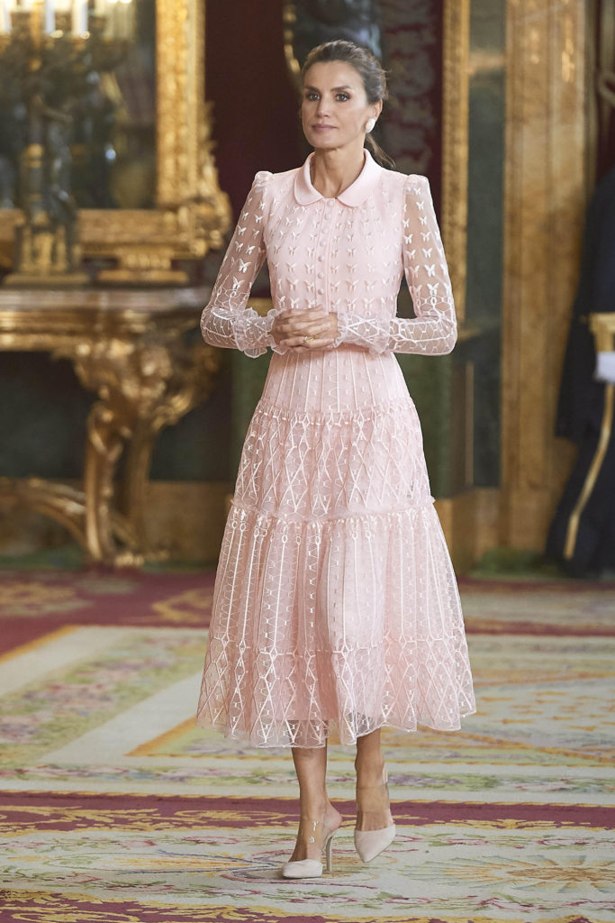 Spanish Royals Attend A Reception For The National Day