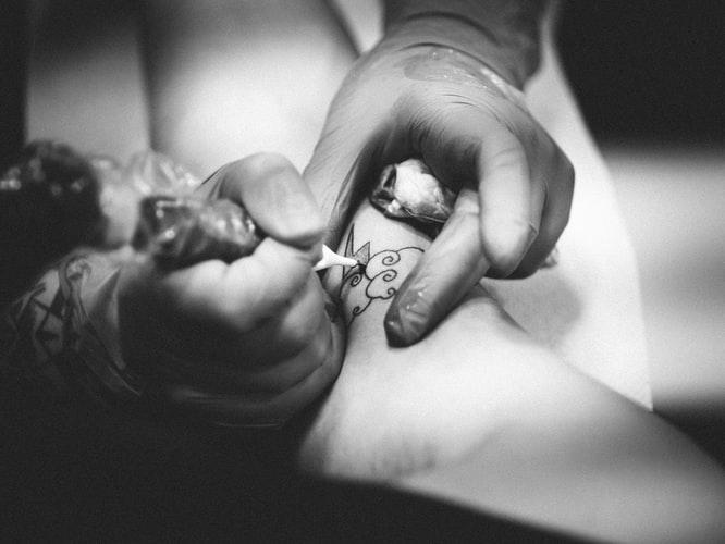tetoválás, hogyan, készül