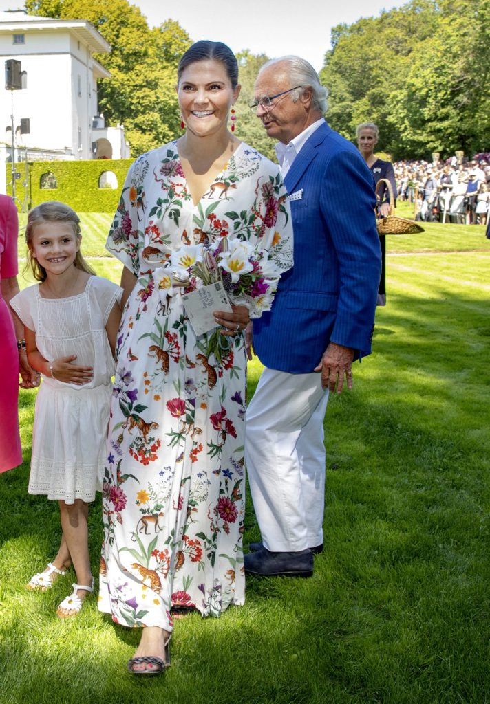 Crown Princess Victoria 42nd Birthday Photo: Albert Nieboer / Netherlands Out / Point De Vue Out