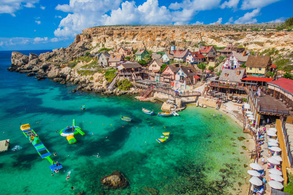 Il Mellieha,,malta, ,panoramic,skyline,view,of,the,famous,popeye