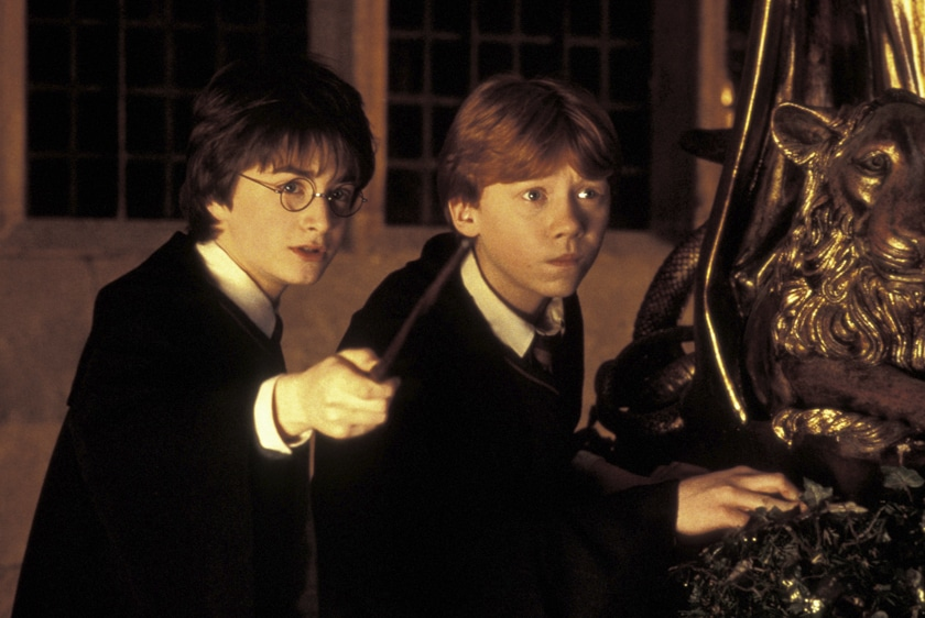'harry Potter Und Die Kammer Des Schreckens' By Chris Columbus, Gb, 2002.
