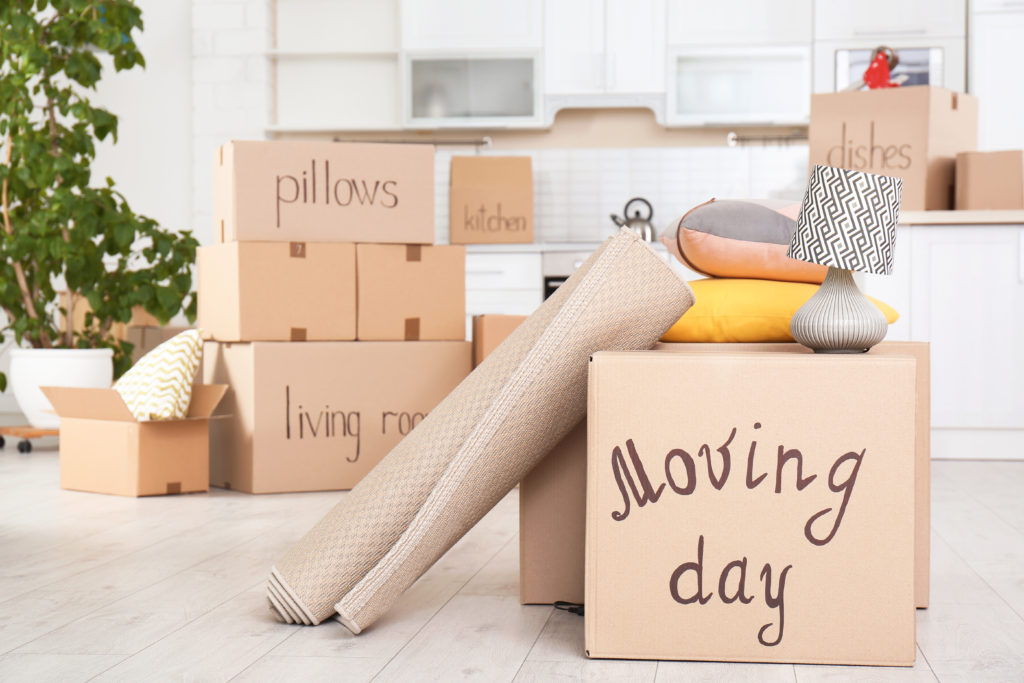 költözés csomagolás dobozok