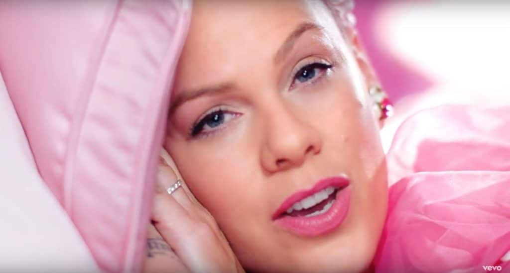 Pink And Channing Tatum Swap Genders Before Indulging In Some S&m In New Video For Her Single Beautiful Trauma