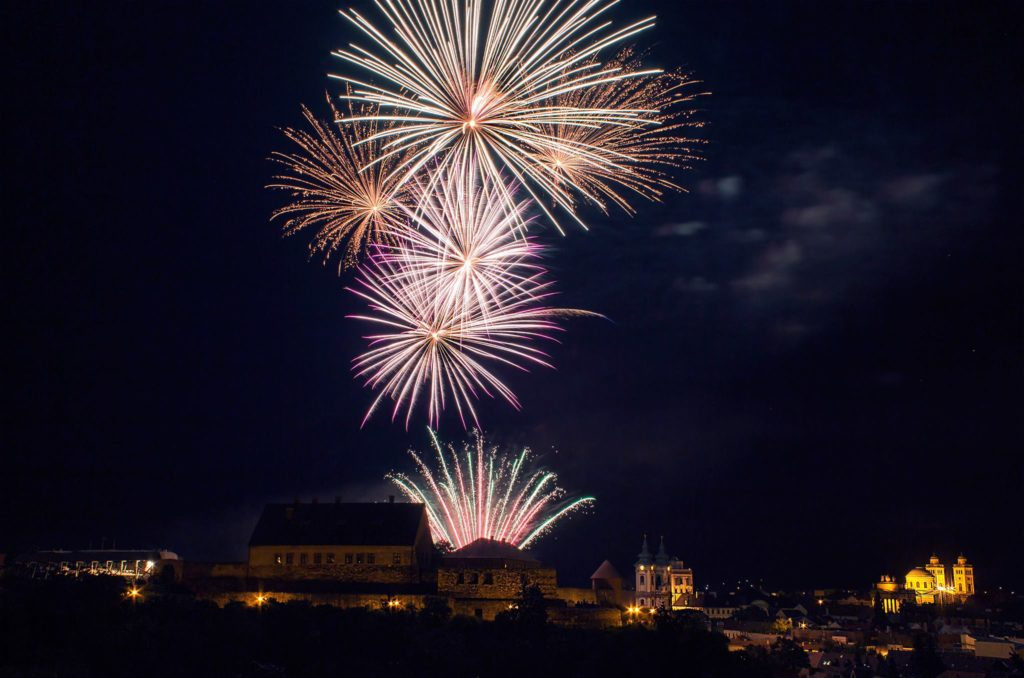Tűzijáték augusztus 20 államalapítás