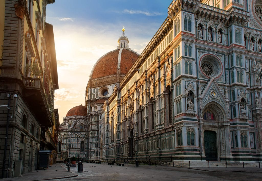 Piazza,del,duomo,and,cathedral,of,santa,maria,del,fiore