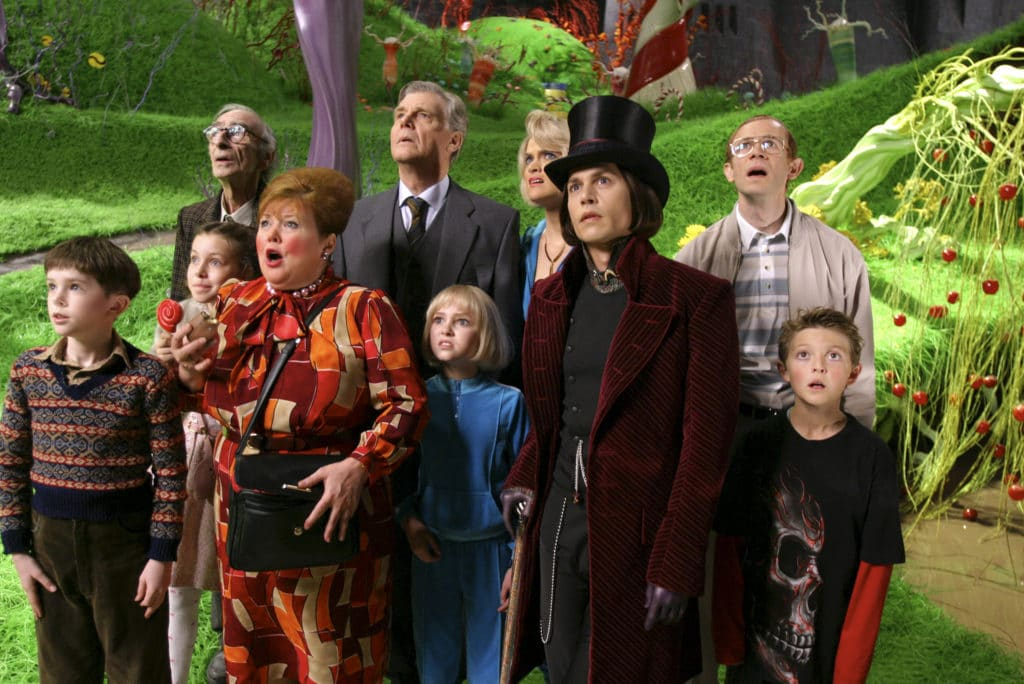 'charlie And The Chocolate Factory' Movie Stills