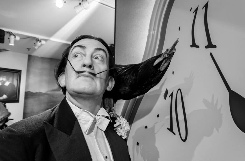 Amsterdam,,netherlands, ,may,5,,2016:,a,salvador,dali,,the