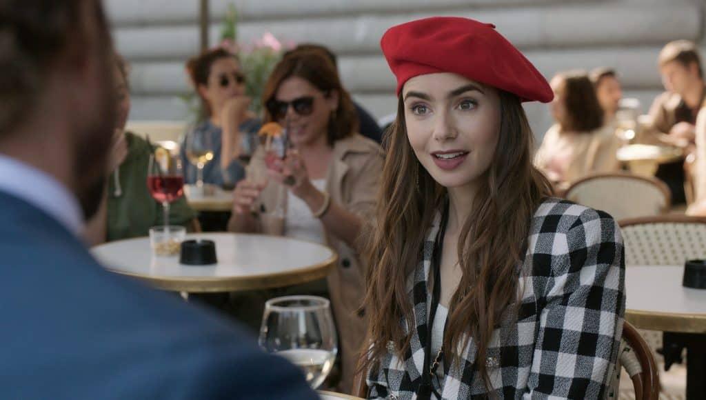 2020 Emily In Paris Tv Set