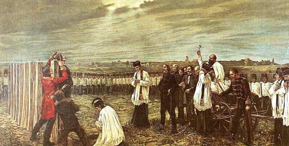 Thorma Janos, aradi vértanúk, október 6, arad