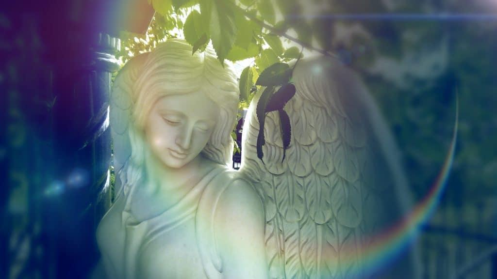 őrangyal, angyal, segítő, szobor