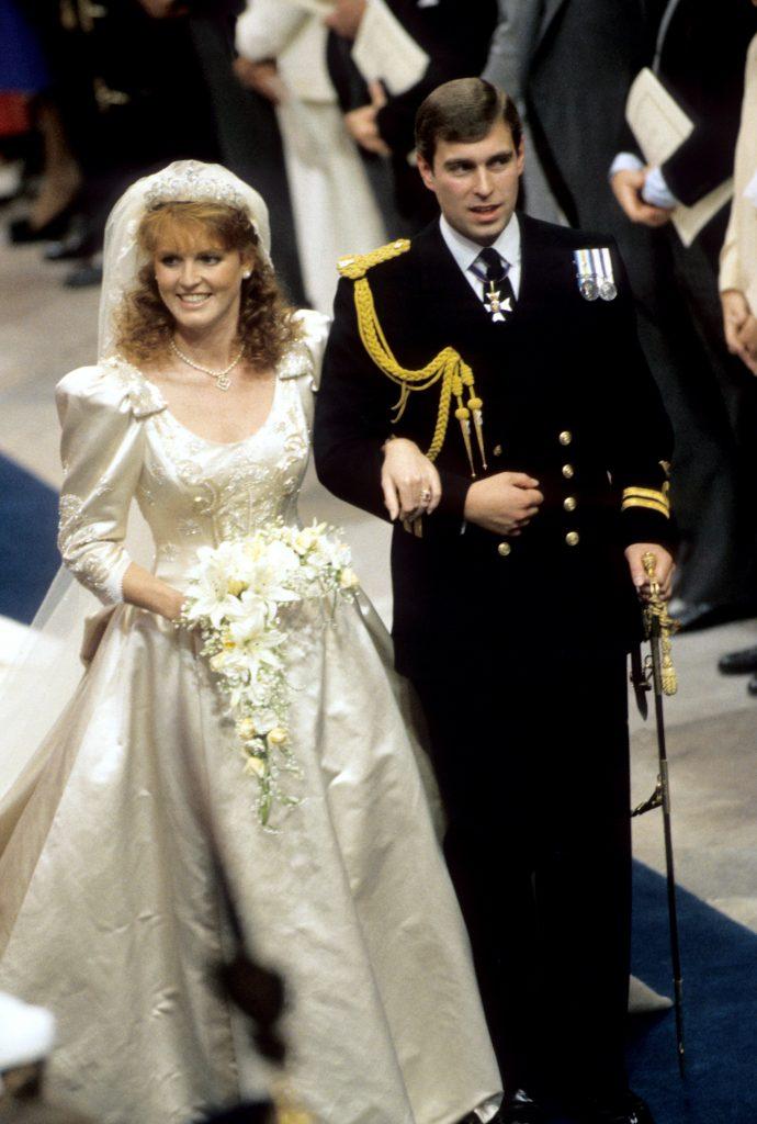Royalty Duke And Duchess Of York Wedding Westminster Abbey