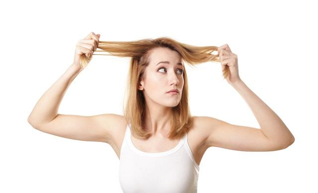 Vékonyszálú haj