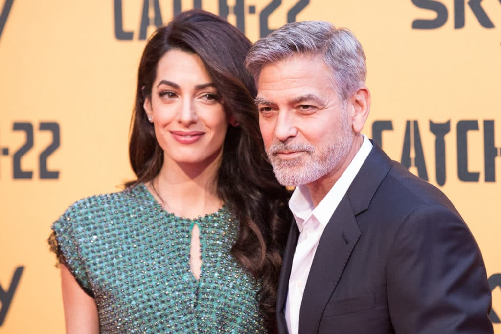Italy: Red Carpet With George Clooney In Rome