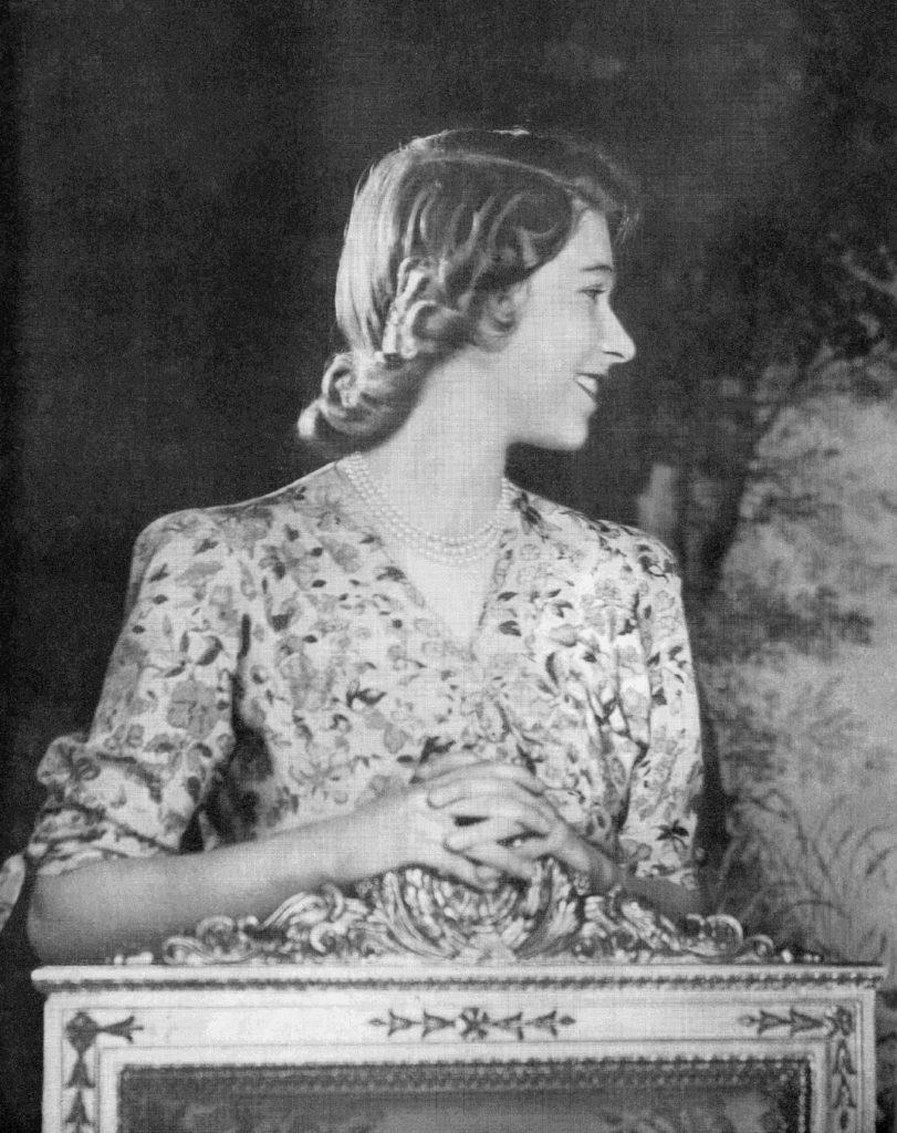 Princess Elizabeth, Future Elizabeth Ii, Born 1926. Queen Of The United Kingdom, Canada, Australia And New Zealand. Seen Here On Her 18th Birthday In 1944. From A Photograph.