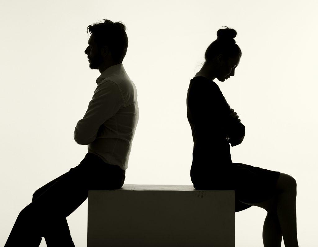 Arguing,couple